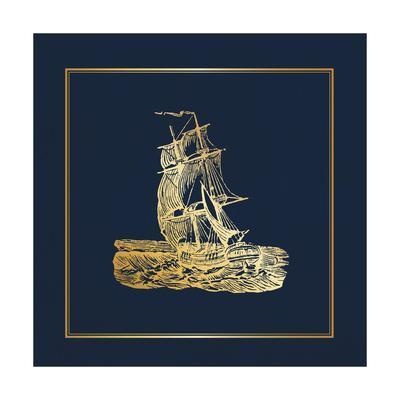 Navy Gold Ship