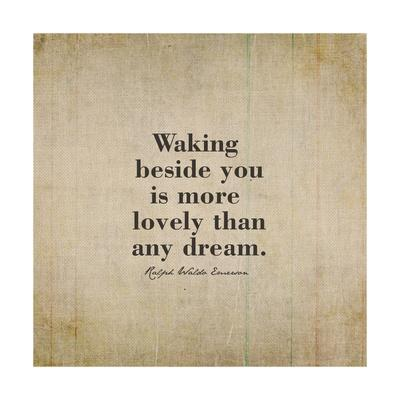 Waking Beside You