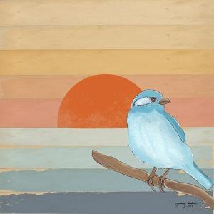Blue Bird By Water by Tammy Kushnir
