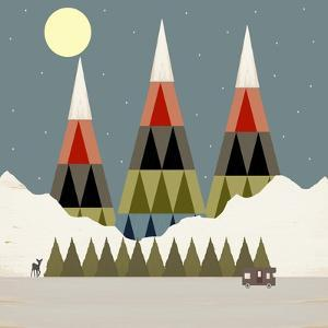 Evening Ride by Tammy Kushnir