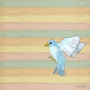 Flying Blue Bird by Tammy Kushnir