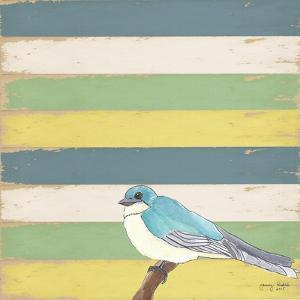 Little Blue Bird by Tammy Kushnir