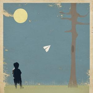 Paper Airplane by Tammy Kushnir