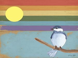 Rainbow And Bird by Tammy Kushnir