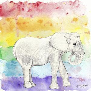 Rainbow Elephant by Tammy Kushnir