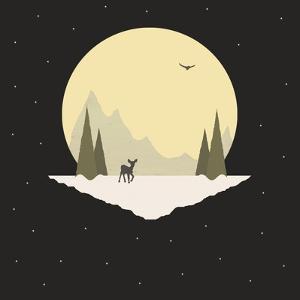 Wintertime Deer by Tammy Kushnir