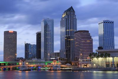 Tampa Skyline, Florida, United States of America, North America-Richard Cummins-Photographic Print