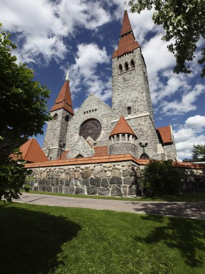 Tampere Cathedral, Tampere City, Pirkanmaa, Finland, Scandinavia, Europe-Dallas & John Heaton-Photographic Print