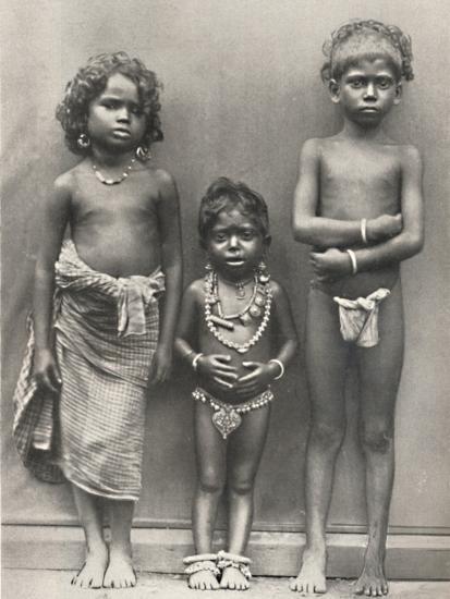 'Tamulenkinder', 1926-Unknown-Photographic Print