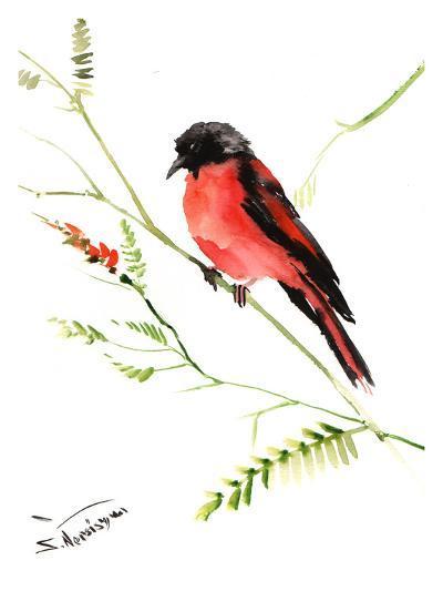 Tanager-Suren Nersisyan-Art Print
