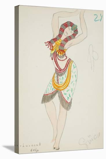 Tancosno, 1928--Stretched Canvas Print