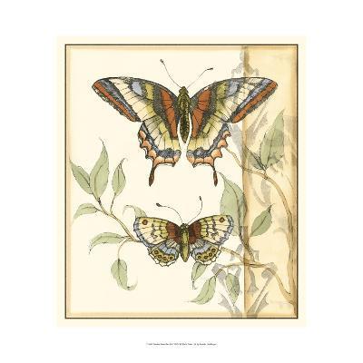 Tandem Butterflies II-Jennifer Goldberger-Art Print