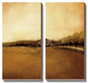 Rural Landscape I by Tandi Venter