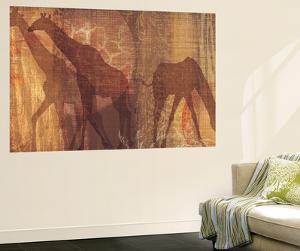 Safari Silhouette III by Tandi Venter