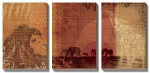 Safari Sunset by Tandi Venter