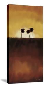 Sunset Palms I by Tandi Venter