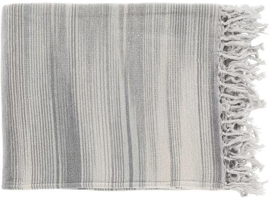 Tanga Throw - Charcoal/Ivory--Home Accessories