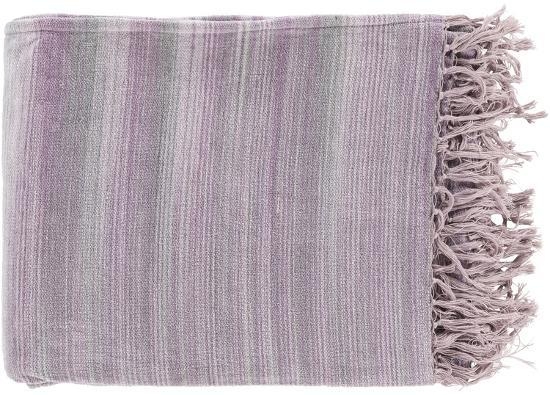 Tanga Throw - Lavender/Ash Gray--Home Accessories