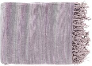 Tanga Throw - Lavender/Ash Gray