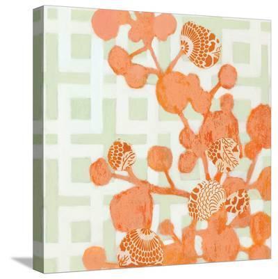 Tangerine Dream I-Sally Bennett Baxley-Stretched Canvas Print