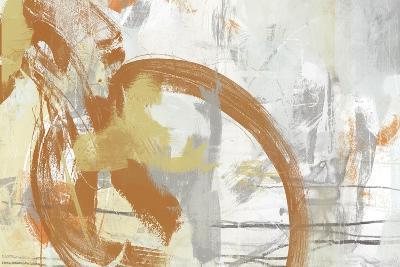 Tangerine & Grey I-June Erica Vess-Art Print