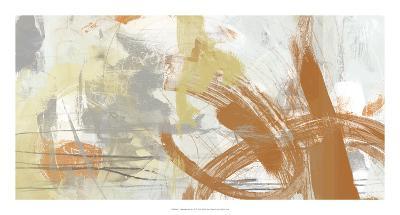 Tangerine & Grey II-June Erica Vess-Art Print
