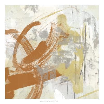 Tangerine & Grey IV-June Erica Vess-Art Print