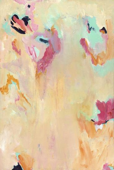 Tangerine Mist - Abstract-Jennifer McCully-Giclee Print