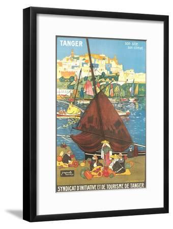 Tangier Travel Poster