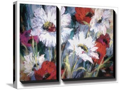Tangled Garden II-Brent Heighton-Stretched Canvas Print