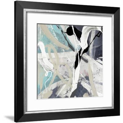 Tangled IV Teal Version-PI Studio-Framed Art Print