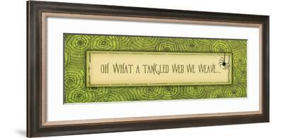 Tangled Web-Jo Moulton-Framed Art Print