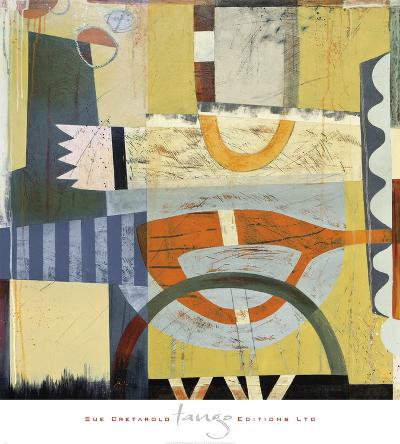 Tango 2-Sue Cretarolo-Art Print