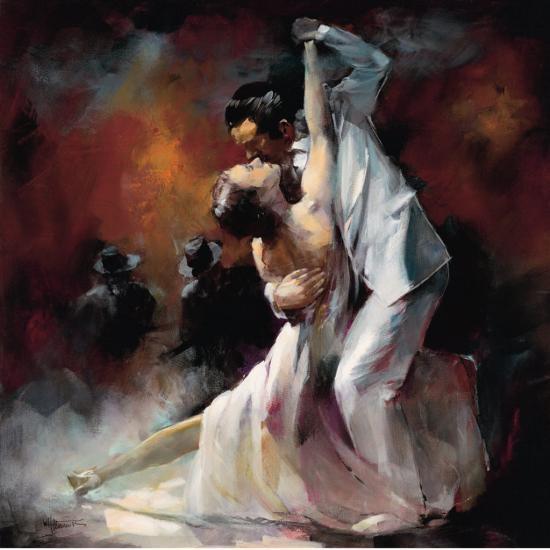 Tango Argentino I-Willem Haenraets-Art Print