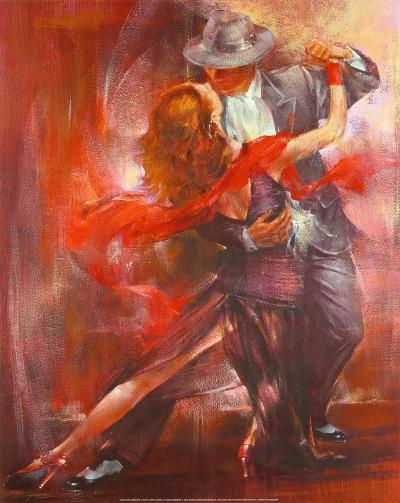 Tango Argentino II-Pedro Alvarez-Art Print