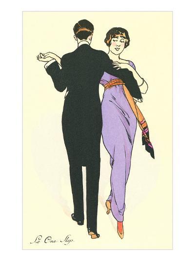 Tango Dancers--Art Print