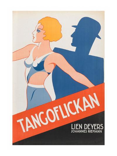 """Tango Movies """"Tangoflickan""""--Art Print"""