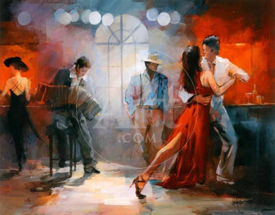 Tango Art Print by Willem Haenraets | Art com