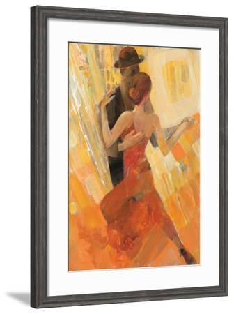 Tango-Albena Hristova-Framed Art Print