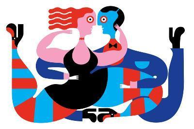 Tango-Melinda Beck-Art Print