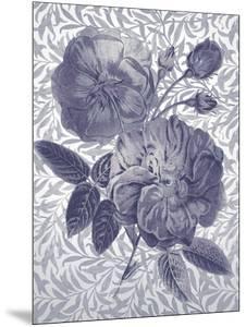 Flores de Oro - Indigo by Tania Bello