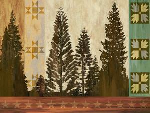 Pine Trees Lodge II by Tania Bello
