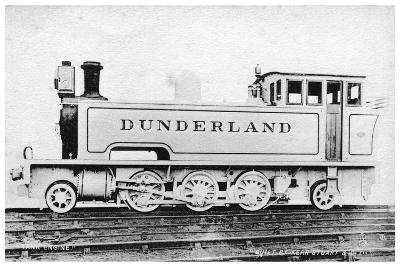 Tank Engine, Steam Locomotive Built by Kerr, Stuart and Co, Early 20th Century-Raphael Tuck-Giclee Print
