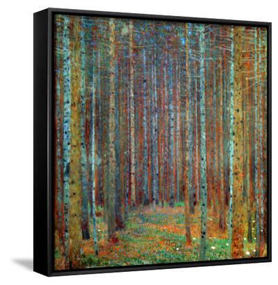 Tannenwald (Pine Forest), 1902-Gustav Klimt-Framed Canvas Print
