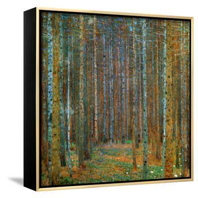 Tannenwald (Pine Forest), c.1902-Gustav Klimt-Framed Canvas Print