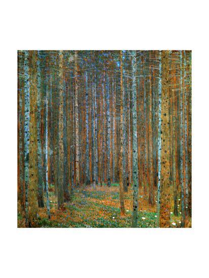 Tannenwald (Pine Forest), c.1902-Gustav Klimt-Art Print