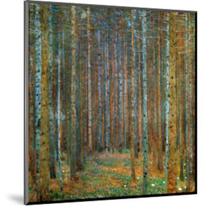 Tannenwald (Pine Forest), c.1902-Gustav Klimt-Mounted Art Print