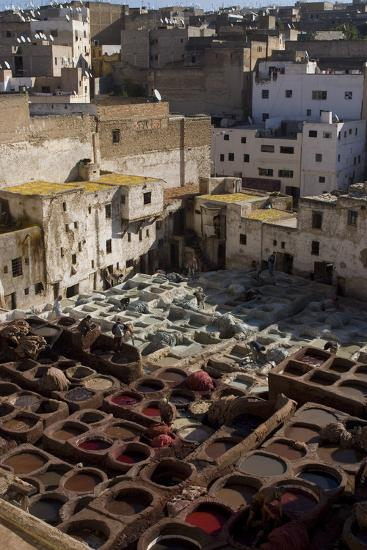 Tannery, Fes, Morocco-Natalie Tepper-Photo