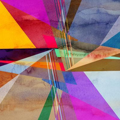 Abstract Colorful Watercolor Background by tanor27