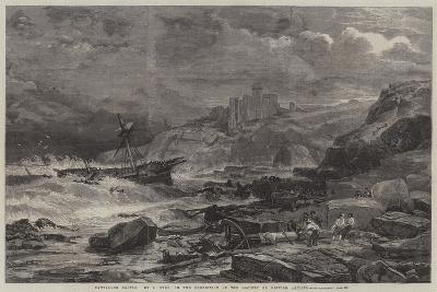 Tantallon Castle-John Syer-Giclee Print